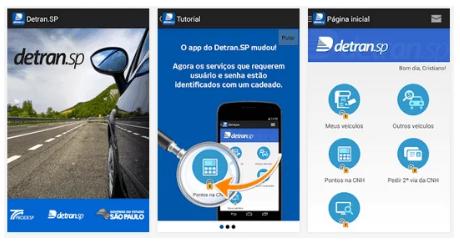 aplicativo-detran-1 DETRAN.SP para Android e iOS