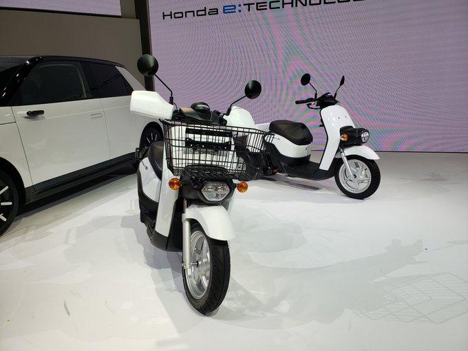 moto-eletrica-toyota Novidades, Toyota apresentou hoje suas duas Scooters elétricas, carros elétricos e o novo Honda FIT no Salão de Tóquio 2019...
